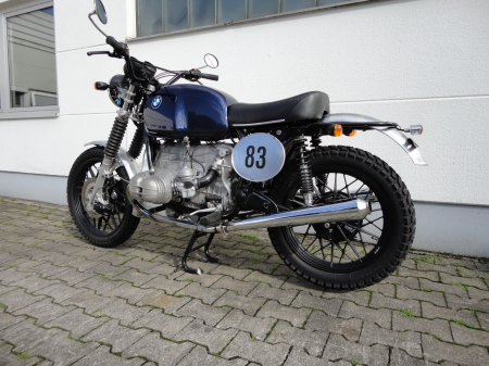Scrambler + Cafe Racer Parts