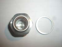 Oil Control Plug (set) M18x1,5 with inspection glas windows