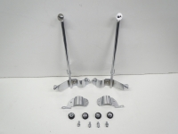 Mounting kit, chrome for windscreen, used, BMW R80R R100R