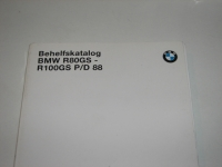 Parts catalog, R2V  BMW  R80GS-R100GS 88-90