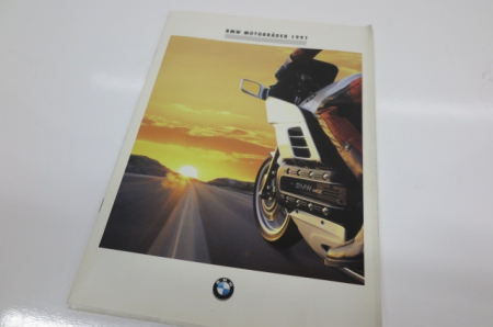 Original BMW Prospekt -  BMW Motorcycle Program 1991