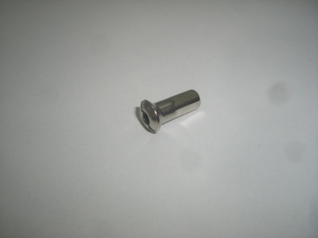Nipple M4 nickel plated for spokes