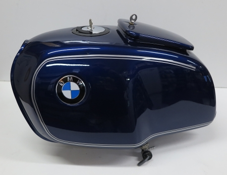 Original BMW Tank, used, bermuda blue, BMW R2V models