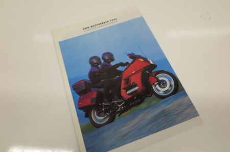 Folleto original de BMW - motocicletas BMW 1993