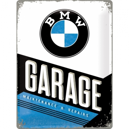 Metal Sign 30x40cm BMW - Garage