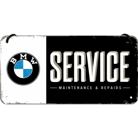 Hanging Sign 10x20cm BMW - Service