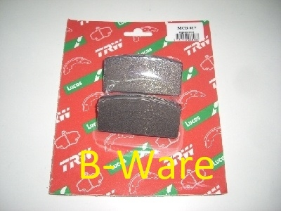 Second Hand  -  Brake pads front, ATE brake system