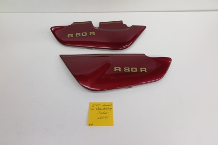 Original Bmw Battery Cover Left Right Colorado Red Used