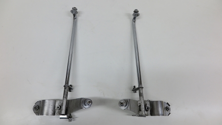 Original BMW Holder left and right for wind shield, used,  BMW R80R R100R