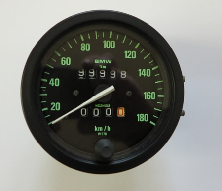 tachometer w978 berholt bmw r45 mit 27ps. Black Bedroom Furniture Sets. Home Design Ideas