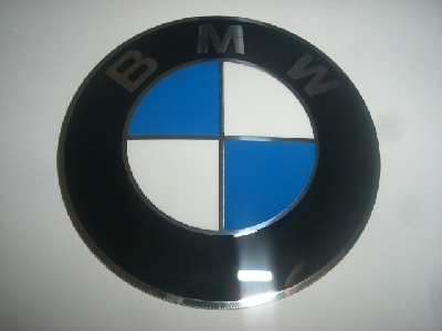 BMW Emblem 70mm, 3D Optik