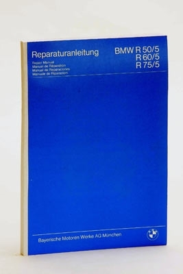 Repair Manual BMW  R50/5 to R75/5 (german,french,spanish,italian )