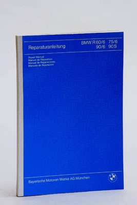 Repair Manual BMW R60/6 to R90S (german,french,spanish,italian )