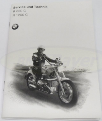 Owners-manual-Service-technic-printed-in-german-language