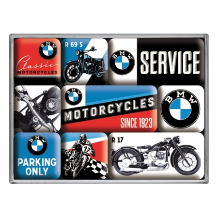 Magnet set 9pieces - BMW Motorcycles