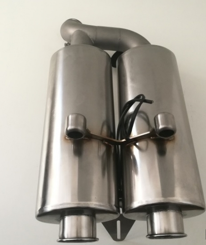 Dual Pipe Silencer´ R1100S , Stainless