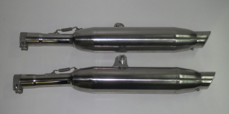 Cannonball  silencer set 40mm Stainless BMW /7