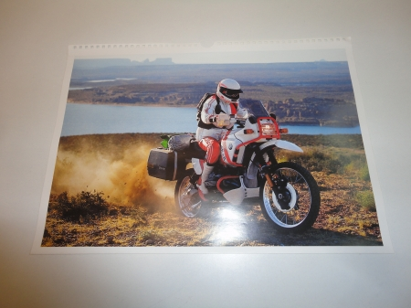 Original BMW Poster-R100GS PD ca. 41x28cm-1989-2