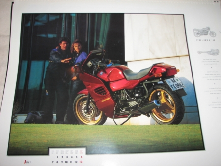 Original BMW Poster-K1100RS-ca.46x38cm
