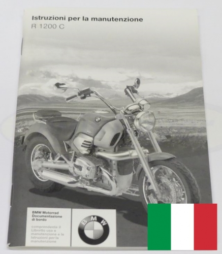 maintenance manual printed in italian language r1200c rh bmwbayer de 1998 bmw r1200c service manual r1200c owners manual pdf