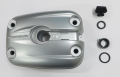 Cylinder head cover, Magnesium, silver, left side set, BMW 1150 models after 12/2002