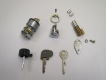 Original BMW Set of locks, BMW /6 and R90S from 09/74
