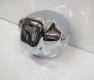 Headlight housing, chrome-plated, used, BMW R2V Monolever models