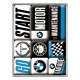 Magnet set 9pieces - BMW Motor