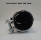 Thunder silencer kit, satin-black, 38mm, BMW universal
